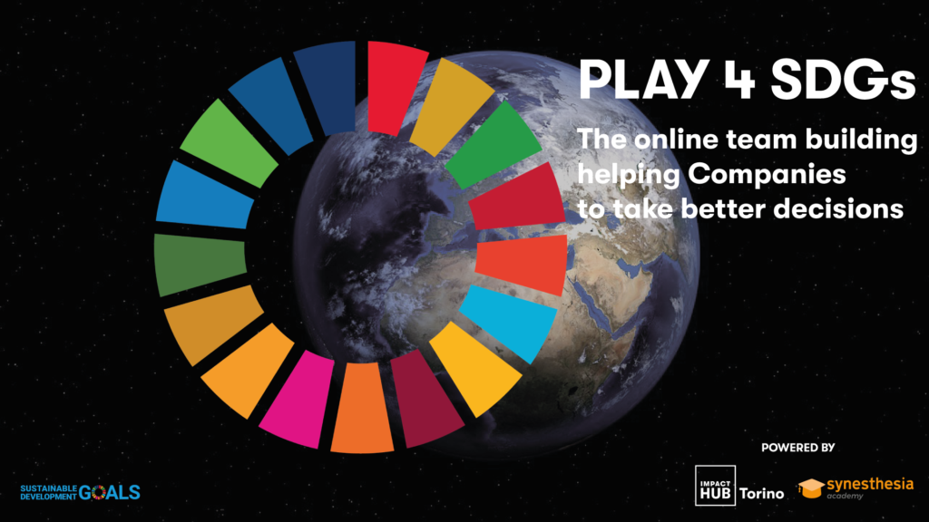 PLAY 4 SDGs: team building per aziende
